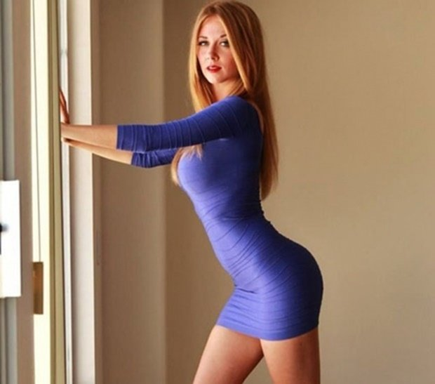 Mỹ nữ playboy, Inessa Chimato sexy nổ mắt