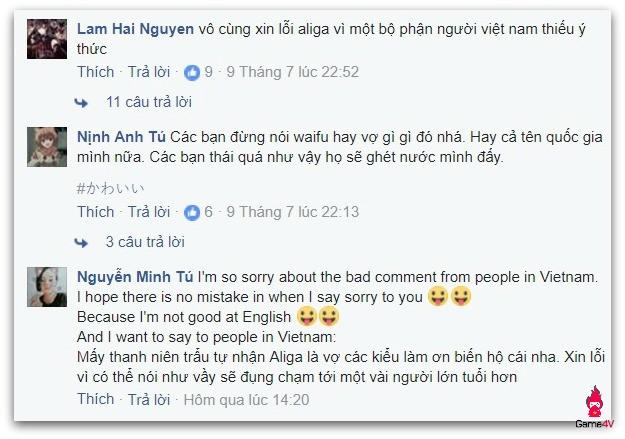 Cosplayer nổi tiếng 'dằn mặt' dân mạng Việt gây rối trên Facebook