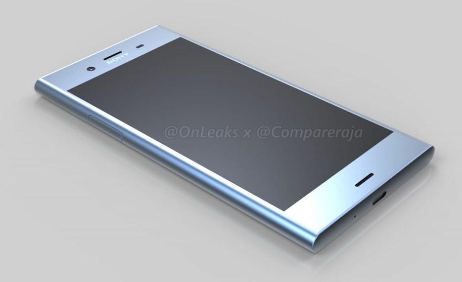 Lộ ảnh Xperia XZ1 với thiết kế ít thay đổi