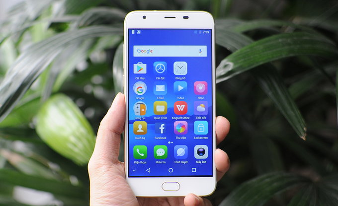 Mở hộp smartphone Asanzo Z5