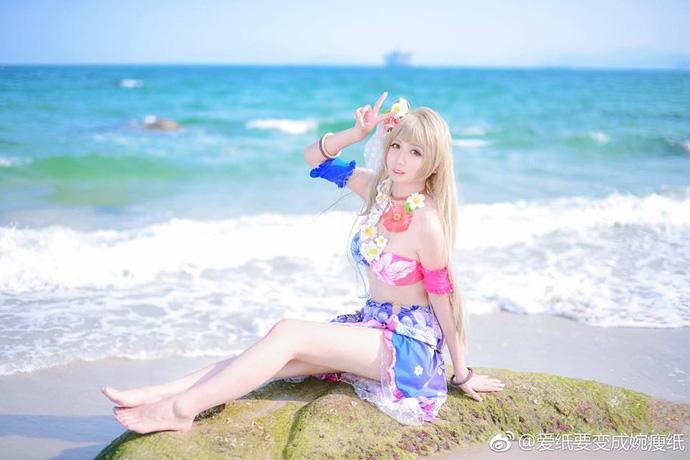 Cùng ngắm cosplay cô nàng Minami Kotori cực dễ thương trong Love Live!