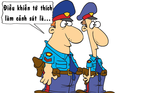 Nghề bán hàng và cảnh sát