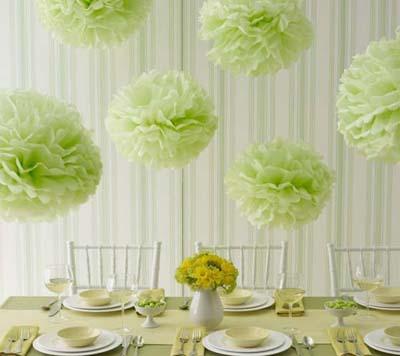 Hướng dẫn một cách trang trí nhà đơn giản với hoa giấy tự tạo