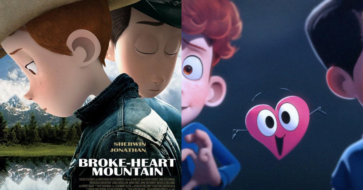 Phim ngắn hoạt hình gây xúc động với chủ đề đồng tính
