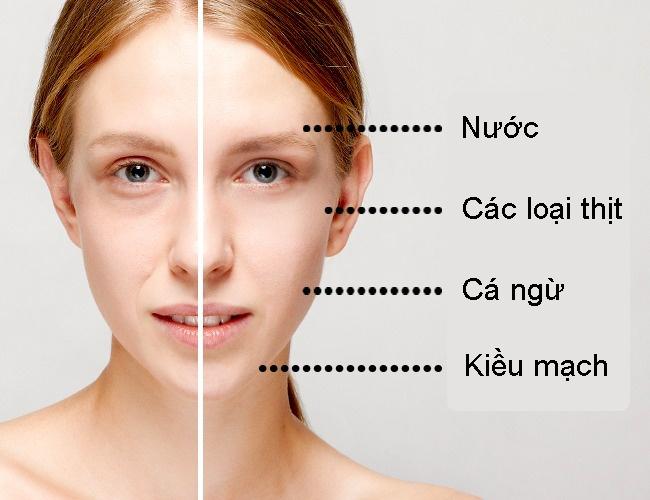 Bác sĩ da liễu chỉ điểm các loại thực phẩm trị mọi vấn đề da
