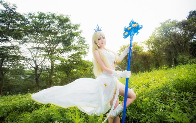 Cùng ngắm cosplay Janna đẹp tuyệt trần trong Liên Minh Huyền Thoại