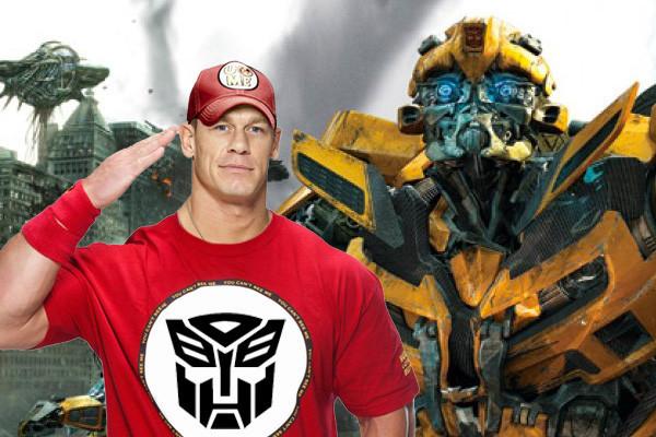 John Cena sắm vai chính trong phần ngoại truyện 'Transformers'