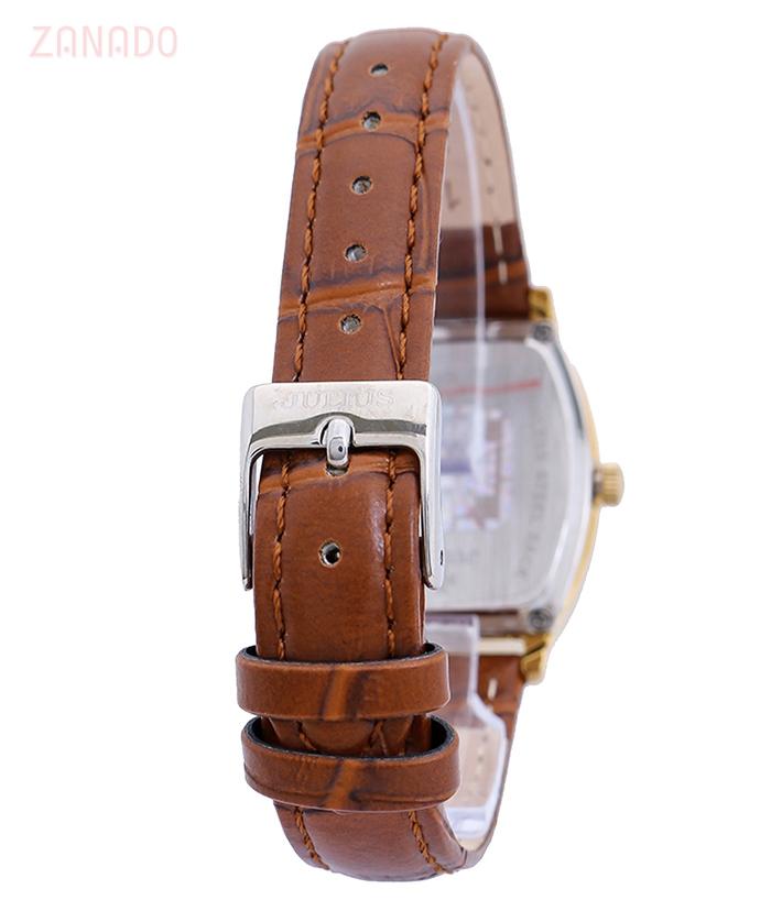 Đồng hồ nữ JULIUS Hàn Quốc chính hãng JU995 (Nâu viền vàng) SID64626