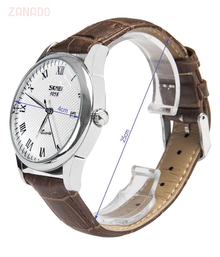 Đồng hồ SKMEI nam dây da cổ điển SK005 SID64548