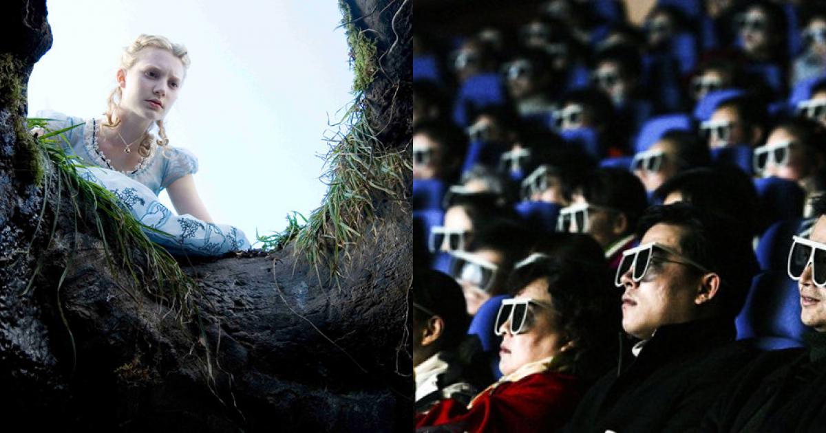 Phim 3D đang dần mất thiêng tại Mỹ