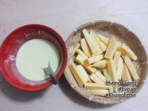 [Chế biến] - Thử làm món khoai lang tẩm bột chiên giòn thơm lừng góc bếp