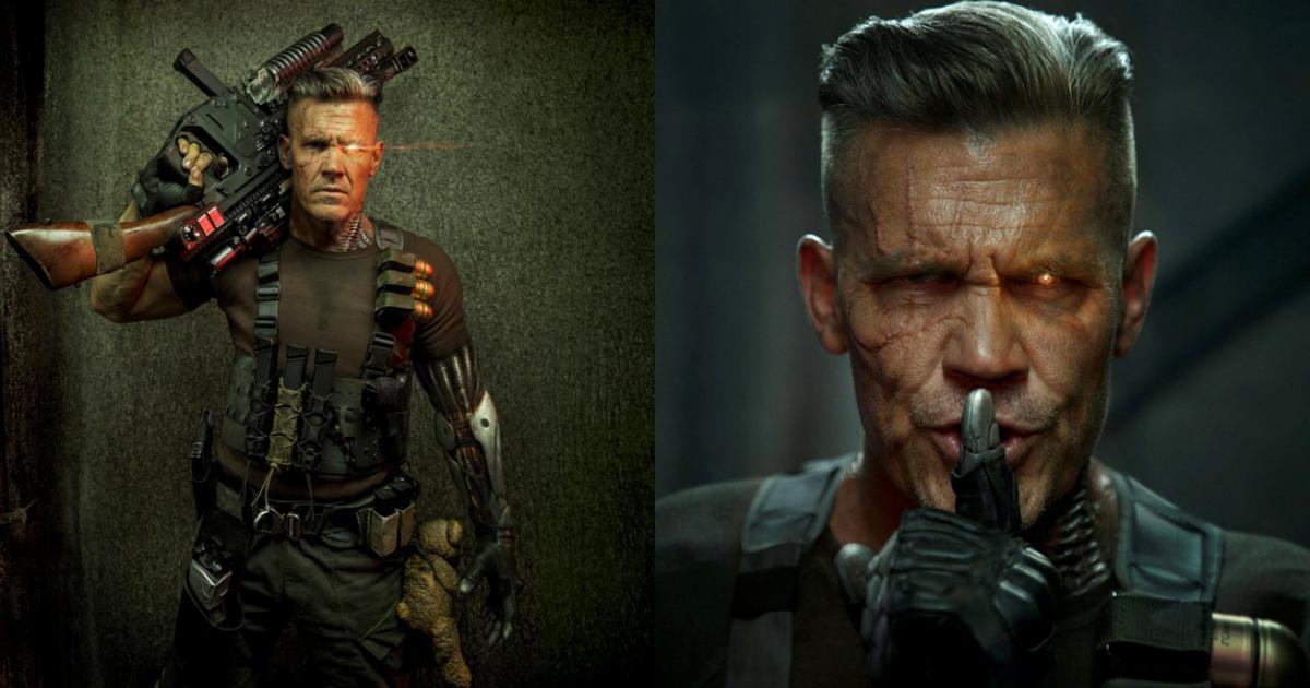 Tạo hình của tài tử Josh Brolin trong 'Deadpool 2'