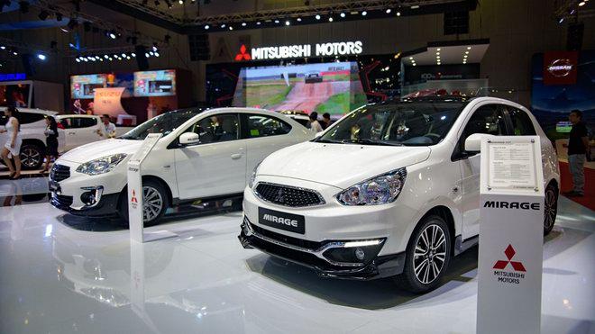 Mitsubishi làm mới Mirage và Attrage tại Việt Nam với bodykit