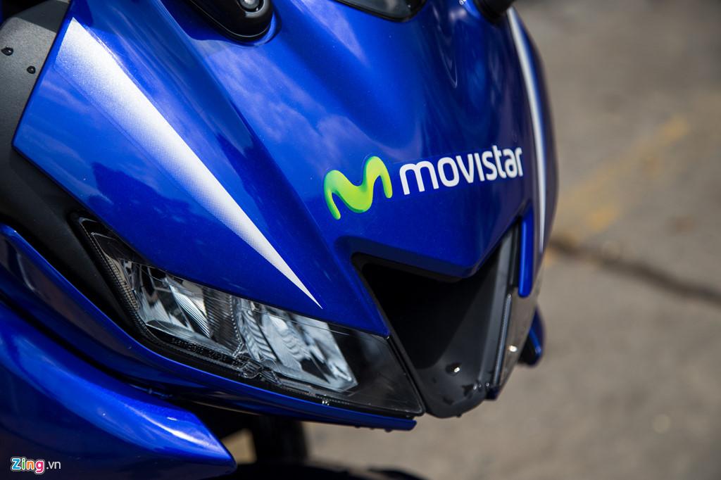 Yamaha R15 v3 Movistar về Việt Nam, giá hơn 110 triệu đồng