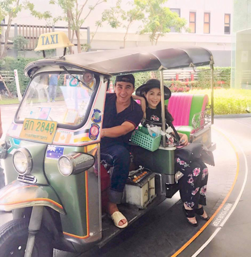 Chốn vui chơi của sao Việt trong tháng 8