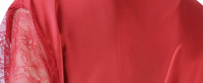 Áo khoác ngủ nữ HISEXY phối tay ren quyến rũ K280 SID65246
