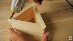 Cách làm hộp đưng bút bằng que đè lưỡi - Hình 6