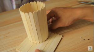 Cách làm hộp đưng bút bằng que đè lưỡi - Hình 4