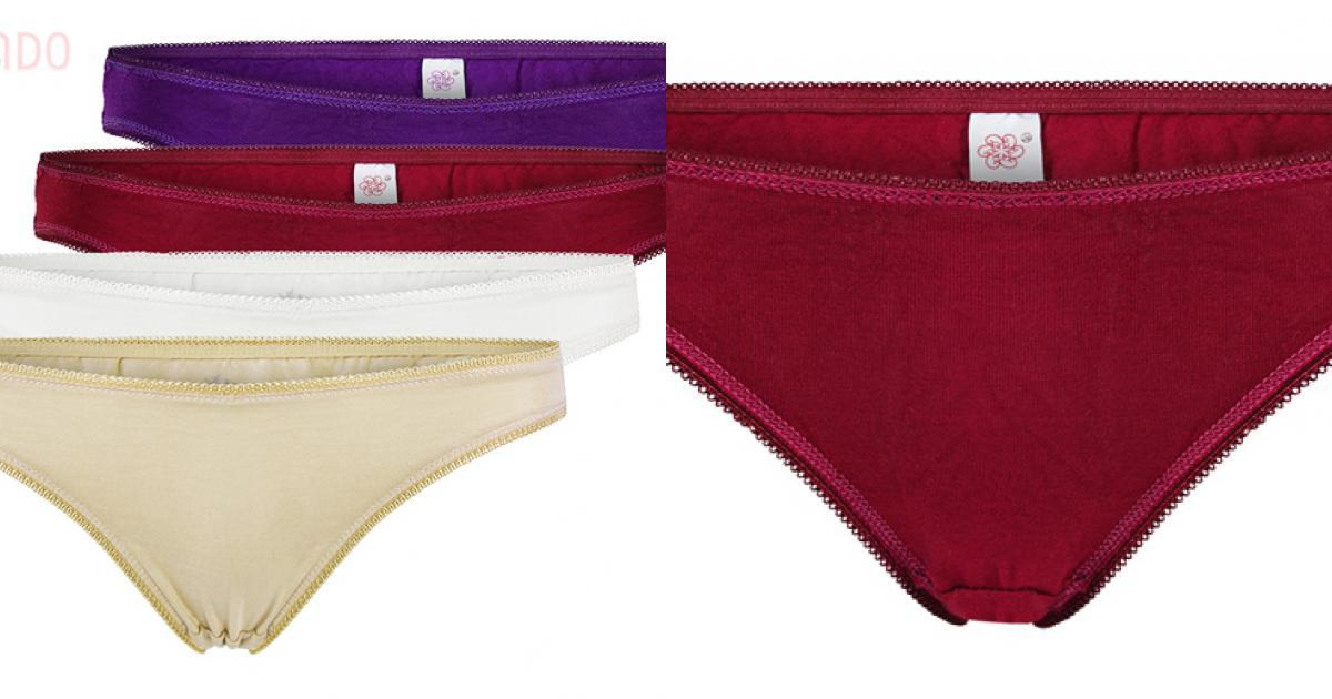 Combo 4 quần lót nữ cotton thoáng mát SID65404
