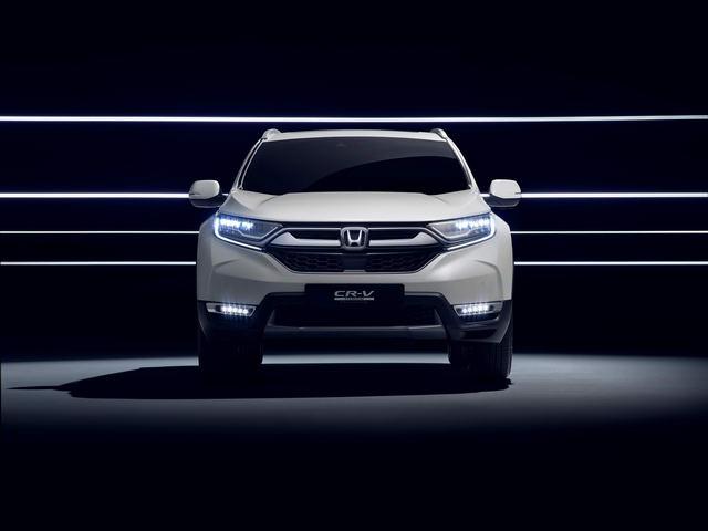Honda sẽ giới thiệu CR-V Hybrid tại triển lãm ô tô Frankfurt 2017