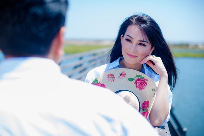 Hương Thủy muốn một lần song ca với Quang Lê trên sân khấu