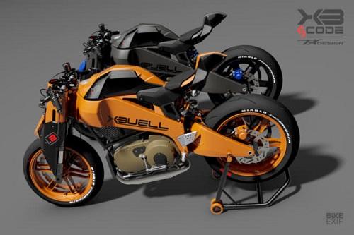 Tesio Buell XB12 Firebolt: Viễn cảnh tương lai của xế độ