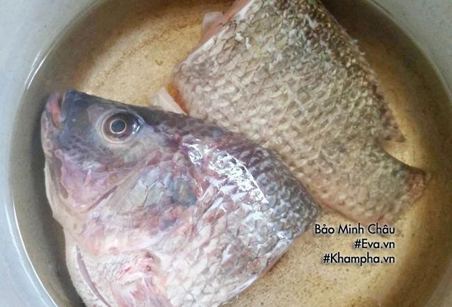 [Chế biến] - Bí quyết nấu canh rau cải cá rô đồng ngọt lịm tim, không tanh nước