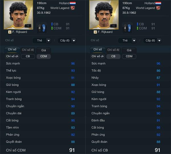 """FIFA Online 3 - Frank Rijkaard: Siêu trung vệ """"Hà Lan bay"""""""