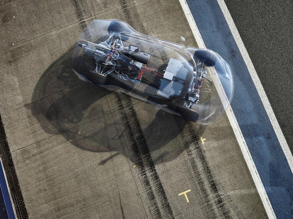 Mercedes AMG Project One: Siêu xe dùng động cơ F1 giá 2,7 triệu USD