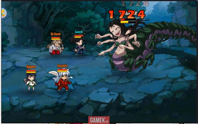 Cùng soi InuYasha Mobile ngày đầu ra mắt tại Việt Nam: Game online hay cho fan InuYasha