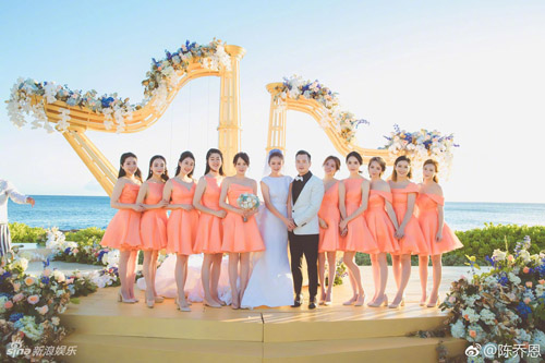 Làm phù dâu cho Phạm Băng Băng, Trần Kiều Ân lại kéo dài kiếp vai phụ trong đám cưới?
