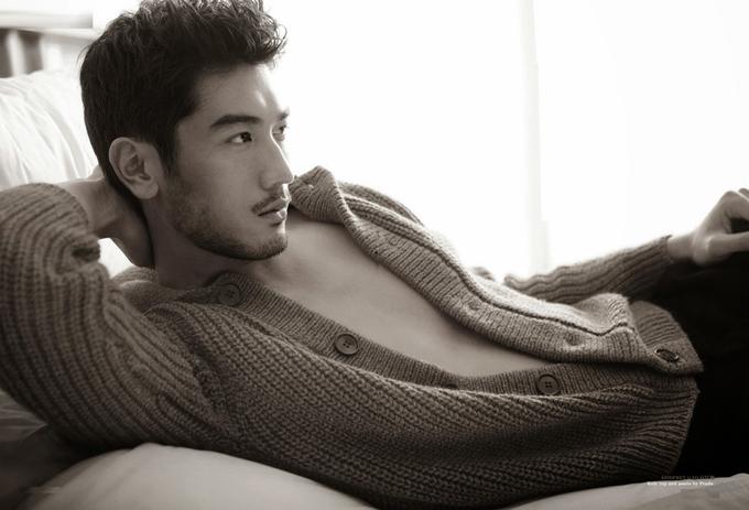 Ngẫn ngơ trước dung nhan của người mẫu nam đẹp trai nhất Đài Loan