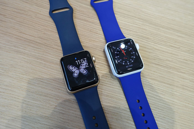 Apple Watch 3 mới hỗ trợ 4G LTE