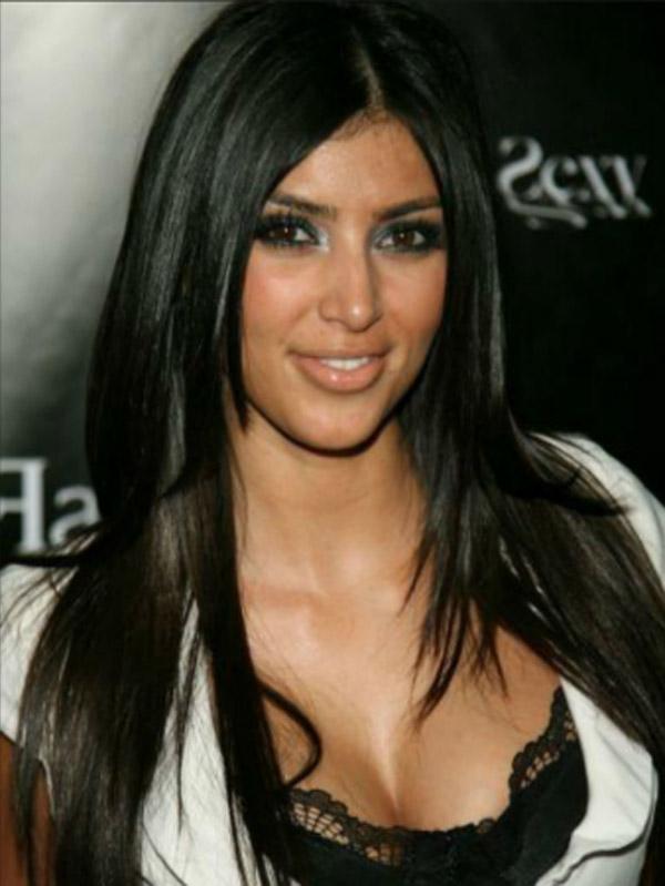 Dung nhan khó đỡ của Kim Kardashian khi mới vào làng giải trí