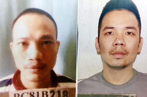 Hai người bị kết án tử hình trốn khỏi nơi giam giữ
