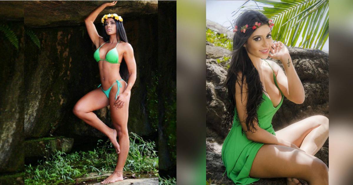 Siêu mẫu Playboy 'cởi hết' vì CLB Palmeiras
