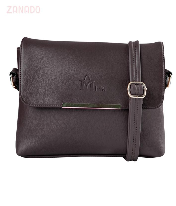 Túi xách da nữ nắp gập thời trang SID65440