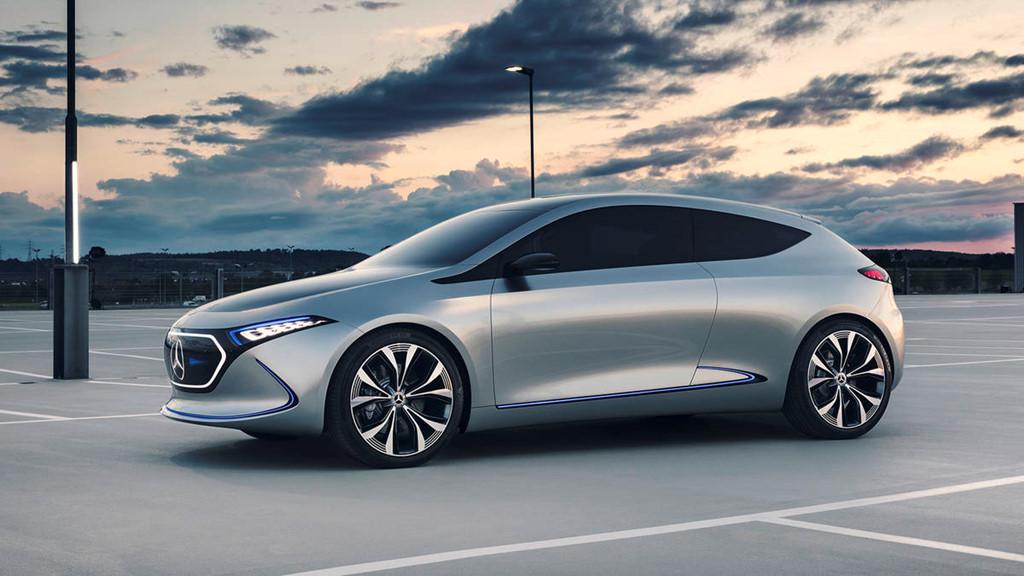Xe điện Mercedes EQA: Xu hướng thiết kế từ tương lai