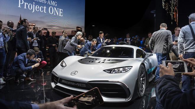 Frankfurt Motor Show 2017 và nỗi lo của người Đức