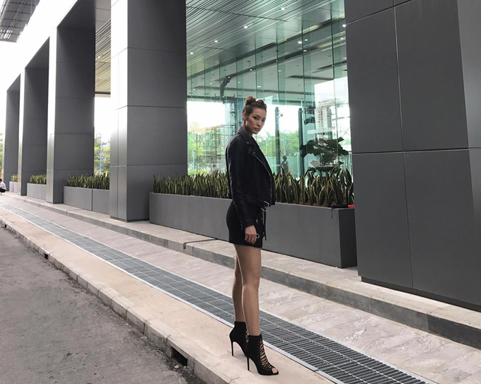 Lilly Nguyễn chuộng trang phục khoẻ khoắn, sexy