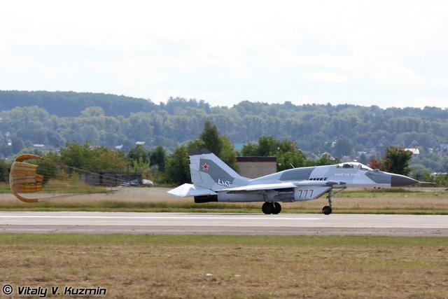 Máy bay chiến đấu đa năng MiG-29 của Nga thử lửa ở Syria