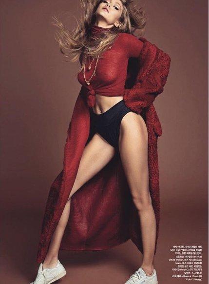 Loạt ảnh sexy mới nhất của Gigi Hadid