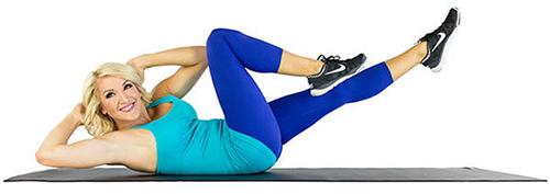 Mách bạn 5 bài tập giảm mỡ bụng lấy lại vòng eo con kiến chỉ sau 3 tuần