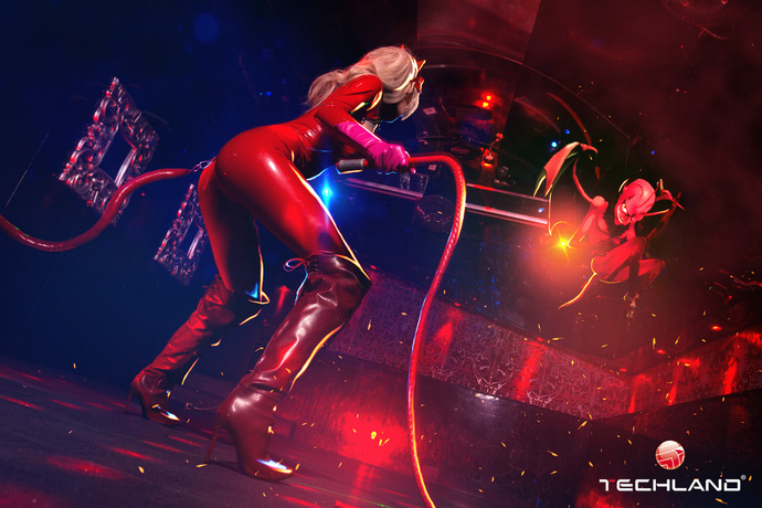 Nóng mắt với bộ ảnh cosplay về cô nàng Pink Panther - Ann Takamaki