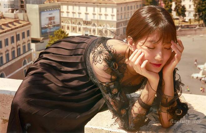 Sau khi Lee Min Ho nhập ngũ, bạn gái Suzy ngày càng đẹp đến nao lòng