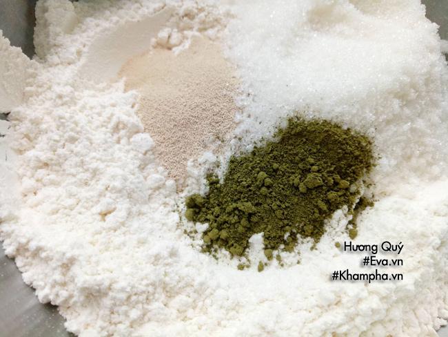 [Chế biến] - Sáng nghỉ lễ vào bếp làm ngay bánh bao chay vị trà xanh thơm lừng mát mắt