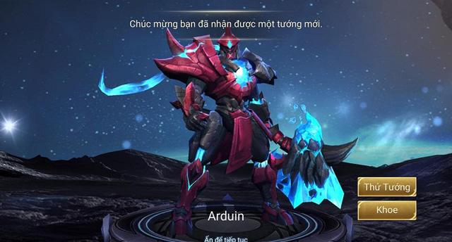 Liên Quân Mobile: Arduin cùng với skin Cận Vệ Hoàng Gia chính thức được mở bán từ ngày 15/9