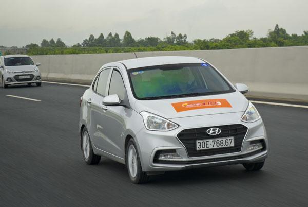 Xe đô thị Hyundai Grand i10 có mức tiêu thụ nhiên liệu ấn tượng