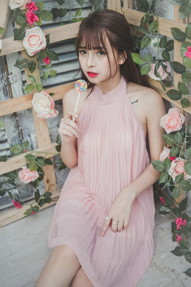 Hot girl 9X Tuyên Quang xinh đẹp, bốc lửa đốn tim bao chàng trai
