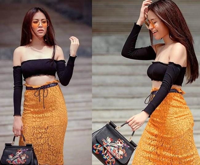 Kiều nữ Việt vô tư mặc nội y ra phố khiến anh em bối rối nhìn